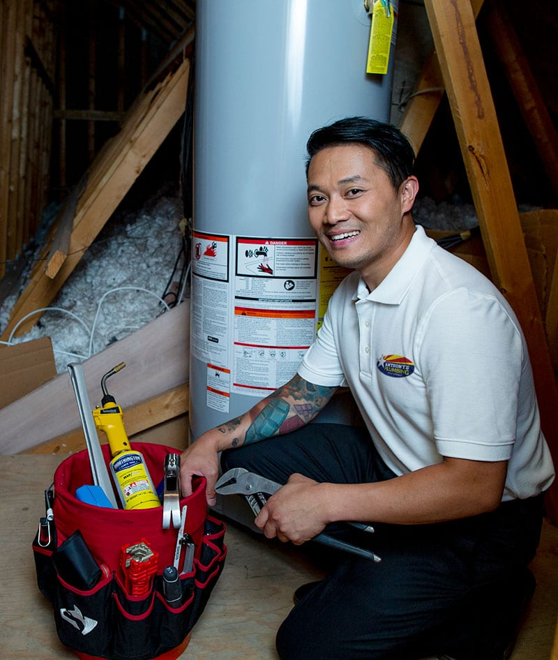 Flushing Your Water Heater Tank