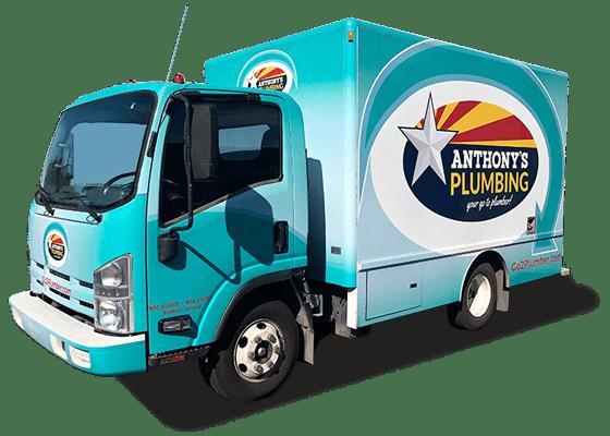 Anthony's Plumbing Truck